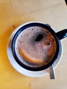 a warm cup of gluhbier